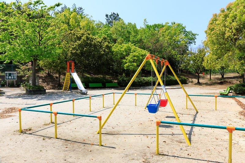 緑の中で遊べる「乗鞍公園」