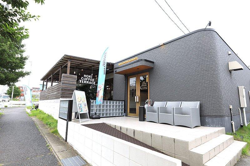 食事も満足できるカフェ「帆季珈琲テラス」