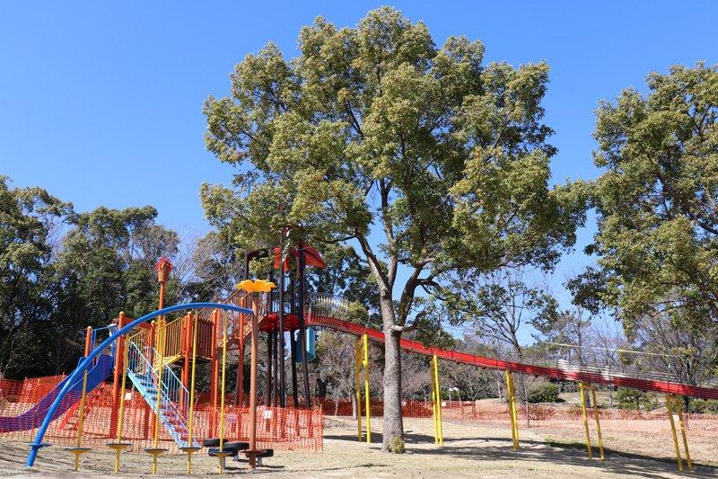 「聚楽園公園」のローラースライダー