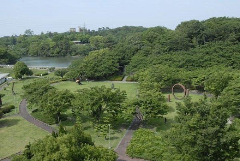 「大池公園」俯瞰