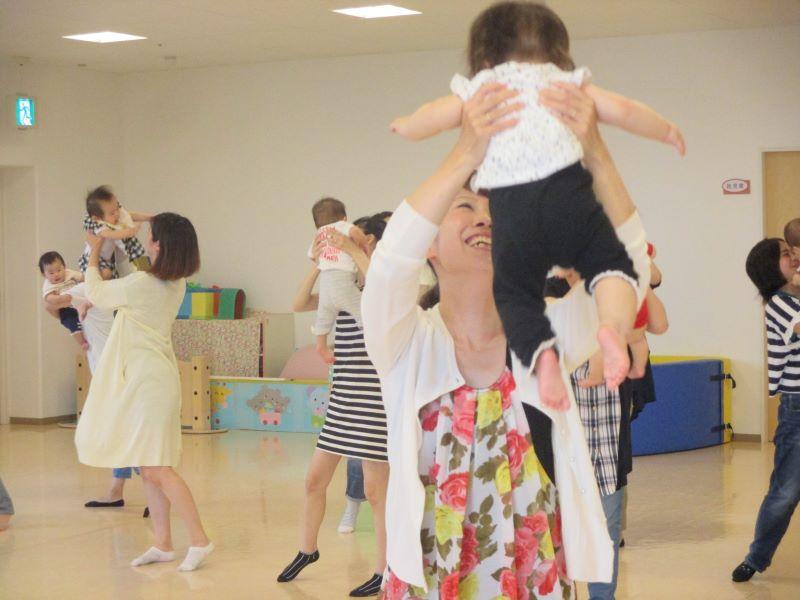 イベント時は多くの親子が集まる