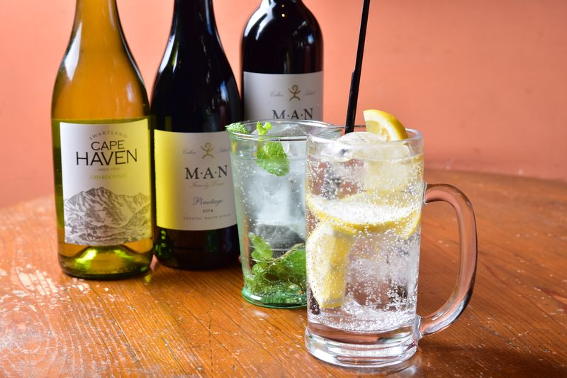 南米ワイン、自家製ジンジャーハイボールなどアルコール類も豊富