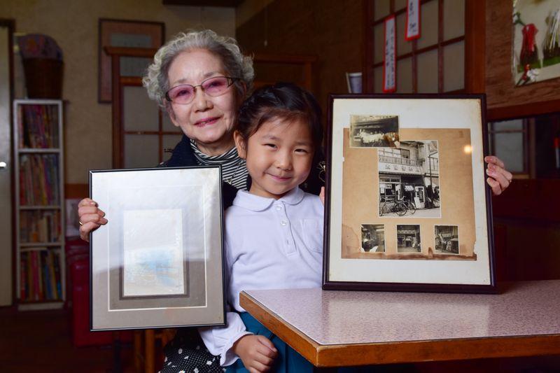 4世代に渡って受け継がれてきた「太陽堂 本店」。店には家族が集う姿も。