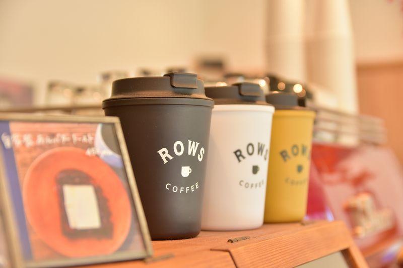 コラボイベントも多数行われる「ROWS COFFEE」