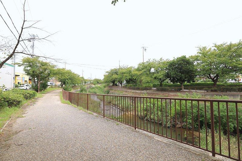地域に親しまれている「扇川緑道」