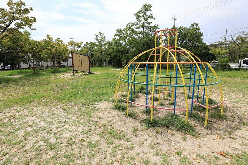 楽しい遊具がある「徳重公園」