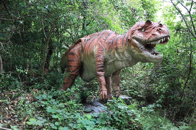 恐竜のテーマパーク「ディノアドベンチャー名古屋」